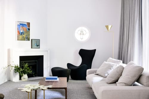 Lamps by Michael Anastassiades seen at Elwood House, Elwood - Captain Flint