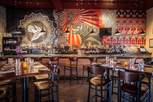 Wynwood Kitchen & Bar, Restaurants, Interior Design