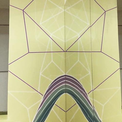 Murals by Batatus seen at SIM-Espaço Pilates-Simone Hande, Jaqueira - Mural