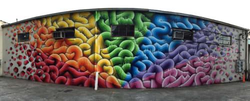 Street Murals by Ricky Watts seen at 10 Krog Street Northeast, Atlanta, GA, Atlanta - Spectrum of Pride