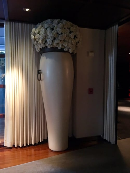 See Contemporary Vase By Philippe Starck At Sls Hotel Los Angeles