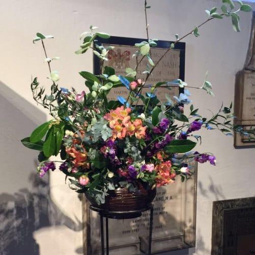 Vases & Vessels by Askew Pottery Dina Son seen at St Helen's Church, Bishopsgate, London - Ceramic Vase