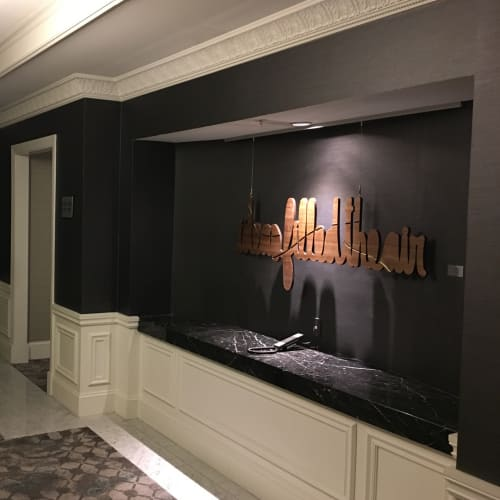 Art & Wall Decor by Matthew Hoffman seen at The Blackstone, Autograph Collection, Chicago - Ideas Filled the Air