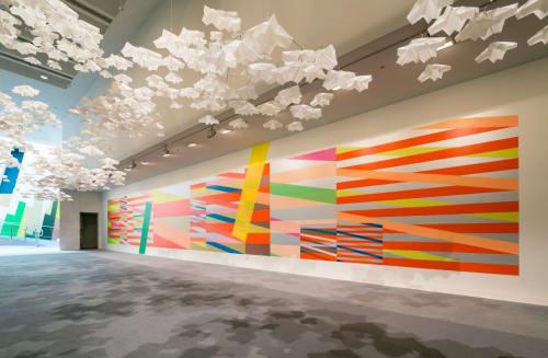 Furniture by atelier oï seen at Spiral Garden, Minato-ku - Paper Garden