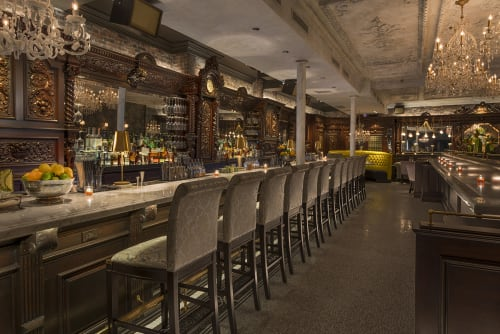 Yvonne's, Bars, Interior Design