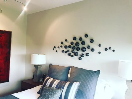 Art & Wall Decor by Lucrecia Waggoner at Private Residence, Dallas - SPIRITUAL SHADOW