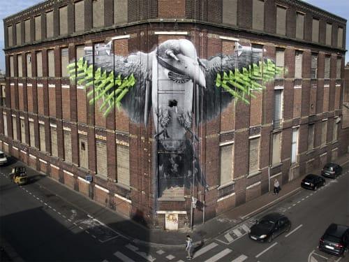 Ludo - Street Murals and Public Art