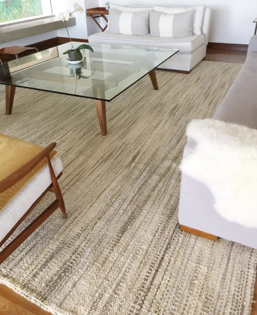 Rugs by AWANAY seen at Private Residence, Buenos Aires - BRUMA rug