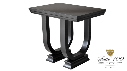 Tables by Plush Home by Nina Petronzio seen at Montage Beverly Hills, Beverly Hills - Gatsby End Table
