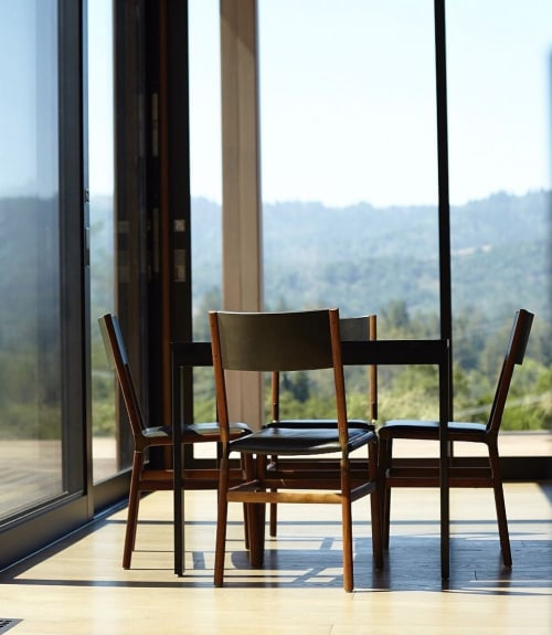 Chairs by Fyrn seen at Private Residence, Portola Valley - Mariposa Standard Chair
