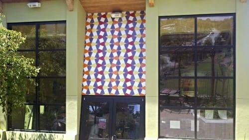 Public Mosaics by Bean Finneran seen at Junipero Serra Playground, San Francisco - Untitled