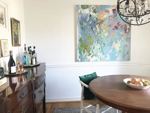 Paintings by Marcy Cook seen at Mary Cook Home Studio - In Rare Light