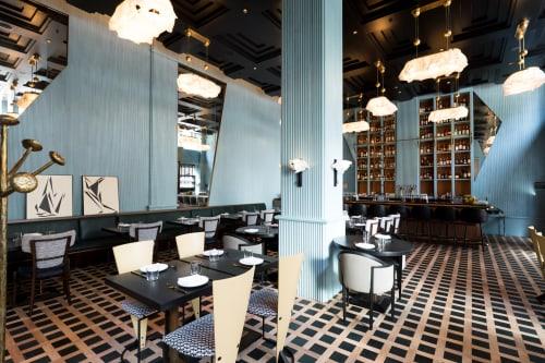 Villon, Restaurants, Interior Design
