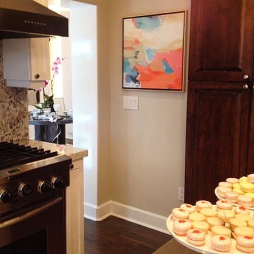 Paintings by Patricia Schwimmer seen at Private Residence, West Palm Beach - Key West Express