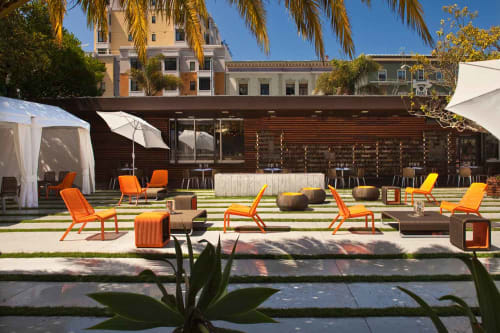 Furniture by Lebello seen at Chambers, San Francisco - Outdoor Furniture
