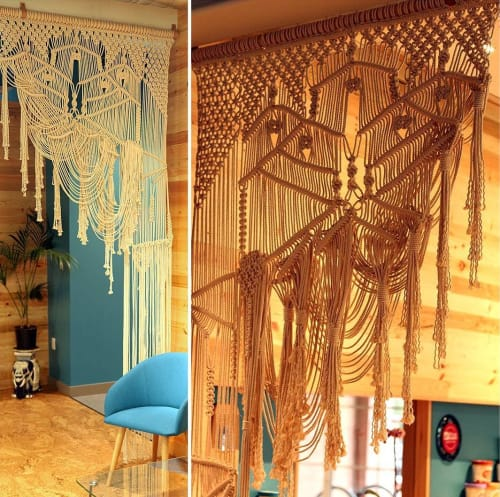 Macrame Wall Hanging by Free Creatures at Coconut Bliss, Eugene - Macrame Wall Hanging