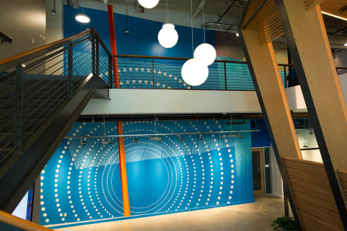 Murals by Erik Otto seen at LinkedIn Sunnyvale, Sunnyvale - Shifting Landscape