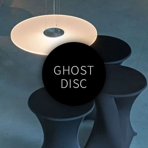 Lighting by FERROLIGHT Design seen at Private Residence, Delft - GHOST DISC