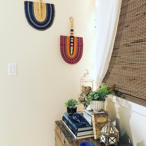 Wall Hangings by KAZI seen at Private Residence, Scottsdale - Ghanaian Fans
