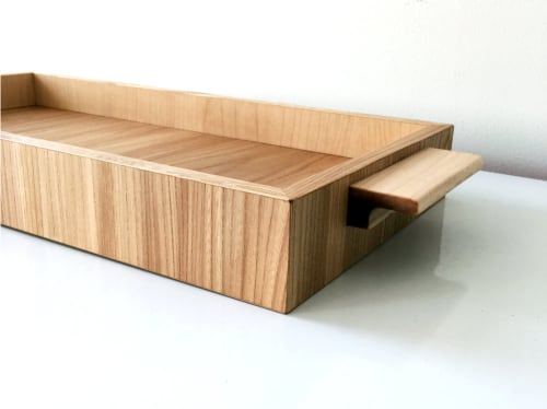 Tableware by Two Tree Studios seen at Private Residence, Brooklyn, NY, Brooklyn - White Oak Tray