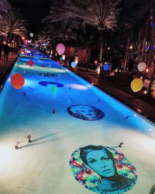 Underwater Art | Art & Wall Decor by Elisabetta Fantone Art | Tamara's Bistro in Miami Beach