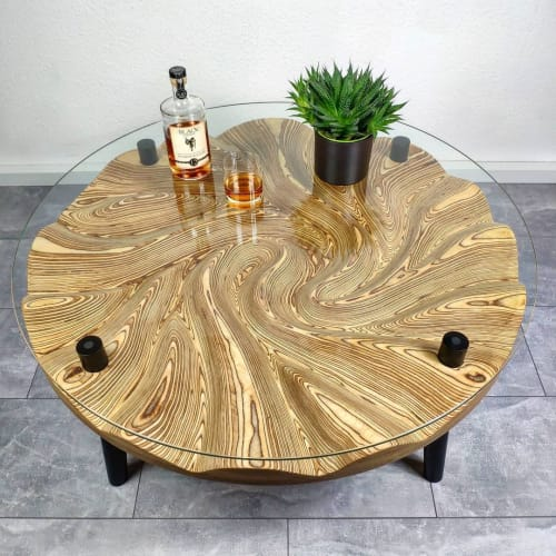 Tables by Julian Szmania seen at Creator's Studio, Aachen - Dune Table