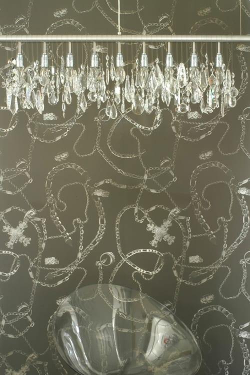 Wallpaper by Dan Funderburgh at WeWork, New York - Nouveau Riche - Wallpaper