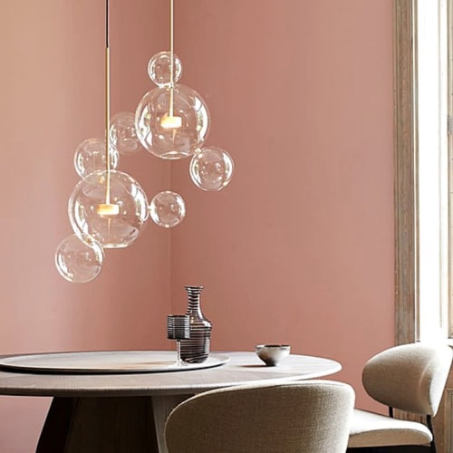 Chandeliers by Alan Mizrahi Lighting Design seen at Private Residence, Dallas - SJ2024 BOLLE