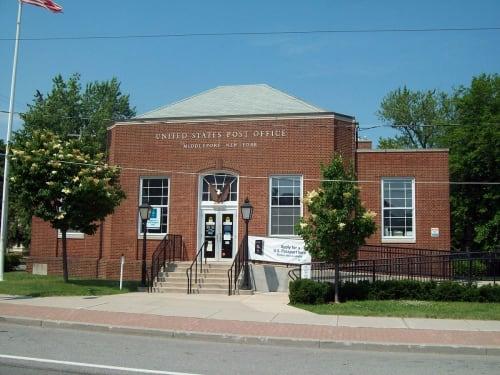 United States Postal Service, Middleport, NY, Offices, Interior Design