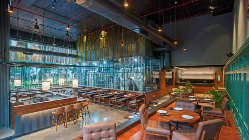 Interior Design by Studio Lotus seen at Independence Brewing Company, Pune - Interior Design