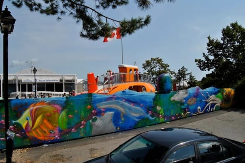 Murals by Christian Toth Art seen at Waterfront, Halifax - Mural