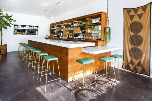 Chairs by Style de Vie seen at Ostrich Farm, Los Angeles - Bar Stools