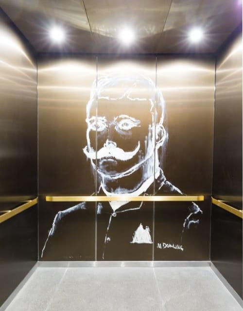 Art Curation by NINE dot ARTS seen at Dairy Block, Denver - Art Curation