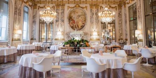 Restaurant Le Meurice Alain Ducasse, Restaurants, Interior Design