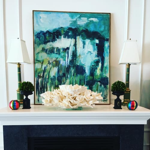 Art & Wall Decor by Christa Wilm seen at Private Residence, Saint Petersburg - Merulina Coral