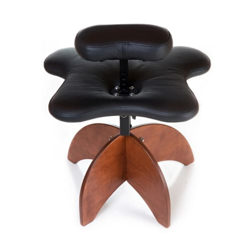 Chairs by Ikaria Design Company seen at Columbia, Columbia - Soul Seat, Wooden Legs