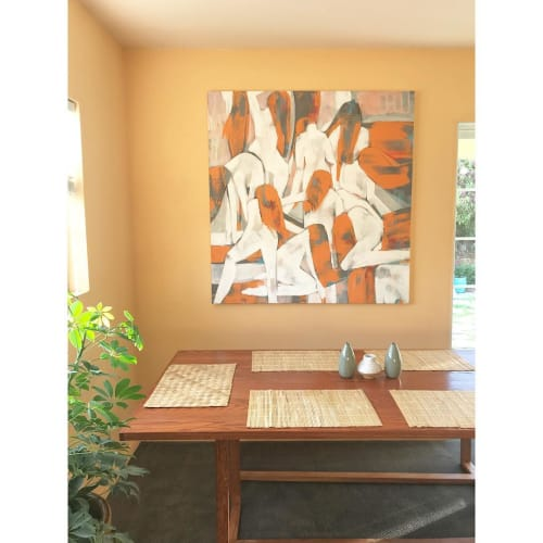Paintings by Leah Tumerman seen at Private Residence, El Cerrito - Figurative Painting