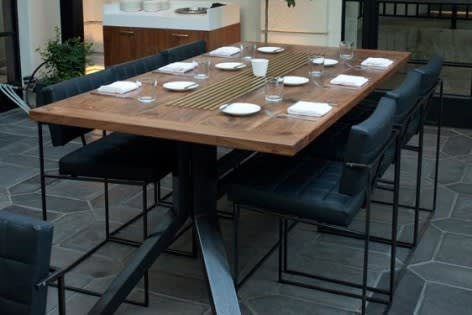 Tables by District Mills at Redbird, Los Angeles - Tables