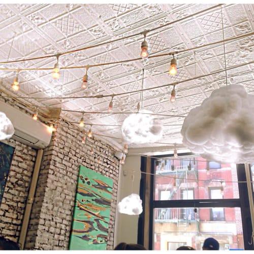 Pendants by Richard Clarkson Studio seen at Two Hands, New York - Cloud pendants