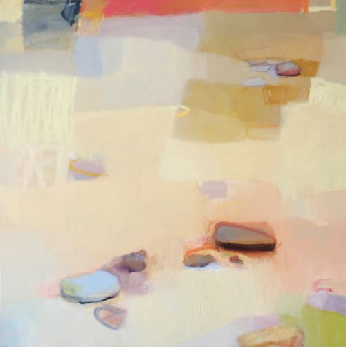 Paintings by Sharon Paster at Private Residence - Warm Sand