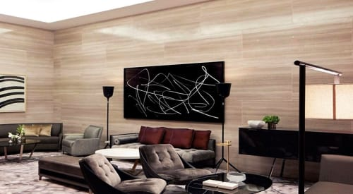 Art & Wall Decor by Karl Haendel seen at Park Hyatt New York, New York - Scribble Mirror