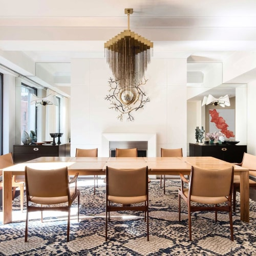 Chandeliers by Gabriel Scott seen at Private Residence, New York - Kelly Chandelier