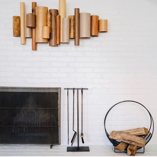 Sculptures by Brandon Harder Art and Design at Private Residence, Louisville - Untitled Wood Arrangement