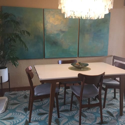 Paintings by Rhea Ashcraft Art seen at Private Residence, Flagstaff, Flagstaff - Art Installation