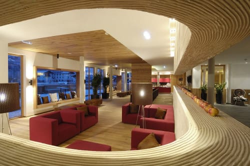Couches & Sofas by Adrenalina seen at Hotel ACTIVE by Leitner's, Kaprun - Pan
