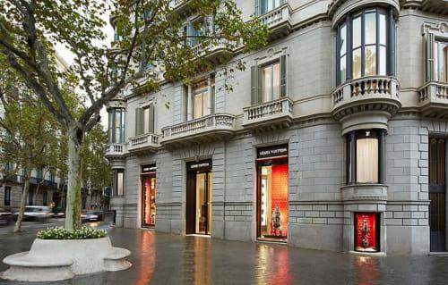 Interior Design by G4 Group seen at Louis Vuitton Barcelona Paseo De Gracia, Barcelona - Architectural Design