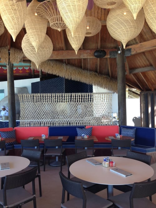 Macrame Wall Hanging by All Roads at Renaissance Aruba Resort & Casino, Oranjestad - Macrame Panel