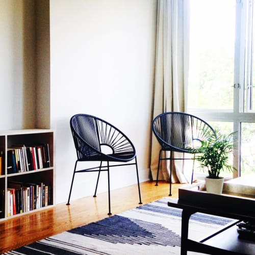 Chairs by Innit Designs seen at Private Residence, Brooklyn - Concha Chair