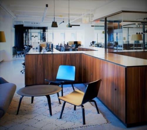 Chairs by Harri Koskinen seen at McCann New York, New York - HK 002