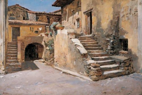 Frank Duveneck - Paintings and Art